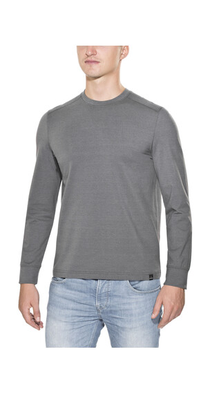 Prana Decco Crew Long Sleeve Men Charcoal